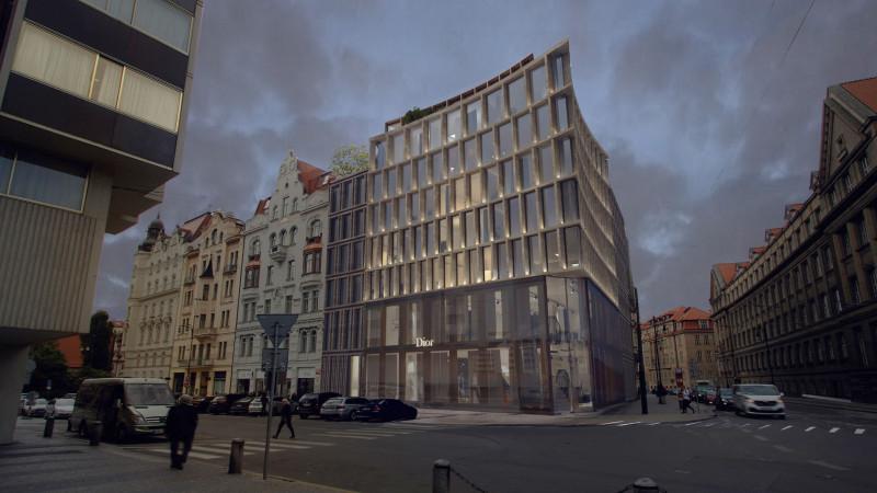 Obchodně-administrativní dům Pařížská