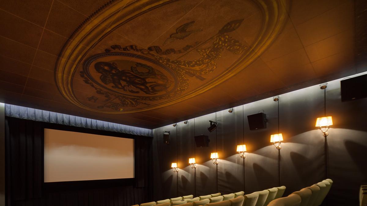 Vestavba kinosálu Palác Lucerna
