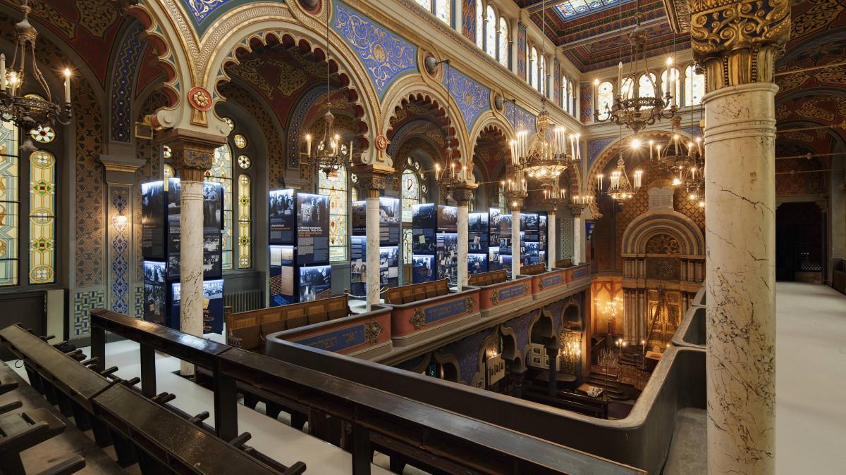 Stálá expozice v Jeruzalémské synagoze