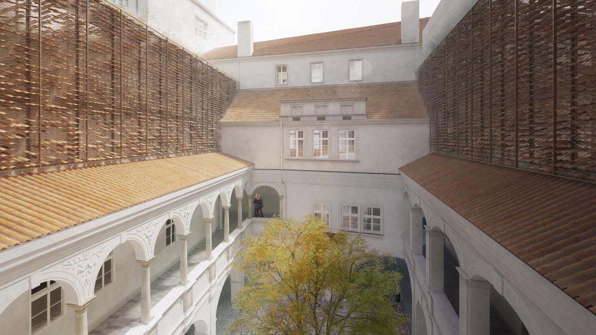 Rekonstrukce měšťanského domu U Zlatého stromu